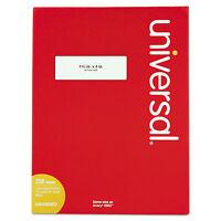 Universal Laser Printer Permanent Labels 1 1/3 X 4 White 3500/box 80003 on sale