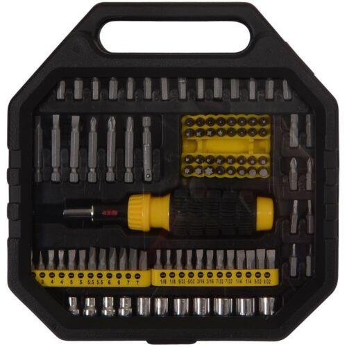Am-Tech 101 Piece Screwdriver /& Bit Set Case