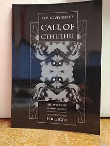 HP-Lovecraft-039-s-Call-of-Cthulhu-GN-Michael-Zigerlig-HR-Giger-Transfuzion-Publ-LN