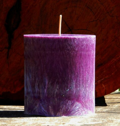 80 hr BROWN CITRONELLA Oval Plant Based Natural Candle MOZZIE INSECT REPELLENT