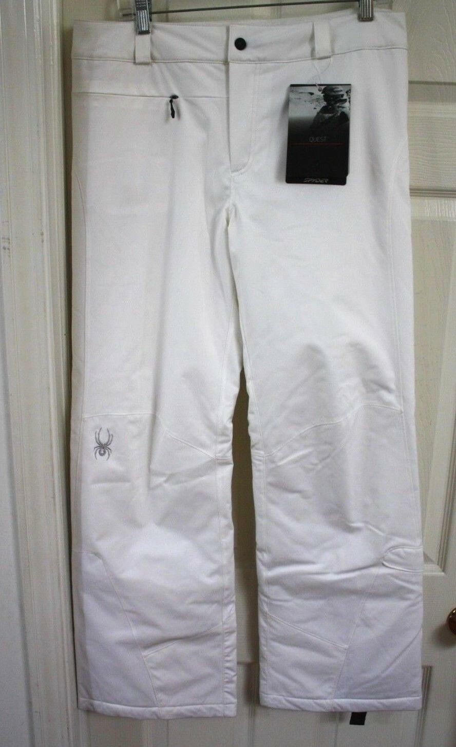 NEW SPYDER WOMEN SKI SNOWBOARD PANTS INSULATED SIZE 12 L  190
