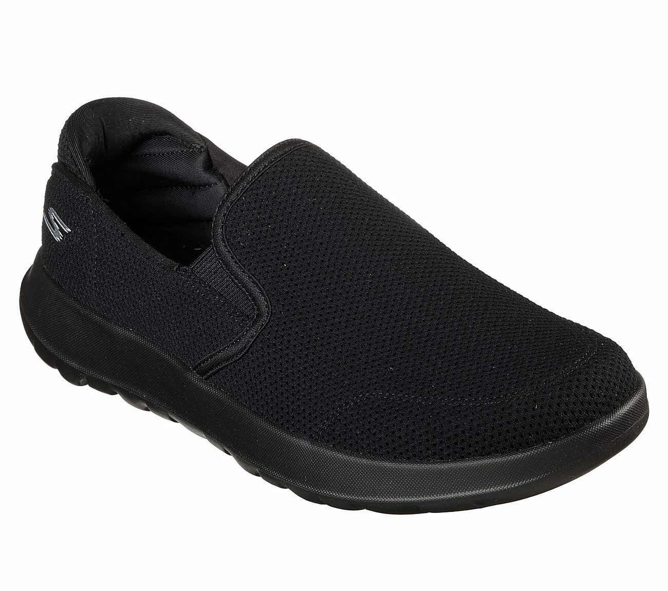 55399 Black Skechers shoes On The Go Walk Men Sporty Casual Comfort Slip on Mesh