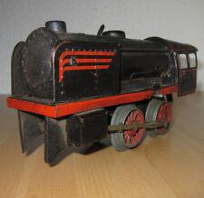 HWN? Blech Lokomotive W47 US-Zone Germany Uhrwerkantrieb Eisenbahn antik Bastler