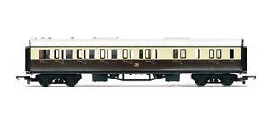 Hornby-R4524-GWR-Brake-Third-Class-Passenger-Coach-039-5121-039-OO-Gauge