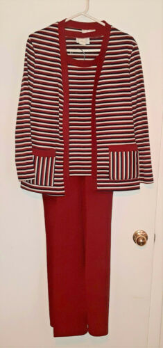 Vintage 1970's JCPenney Womens 3 piece polyester P