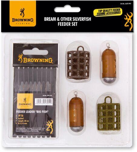 Browning Bream /& Other Silverfish Feeder Set Sortiment zum Feederangeln