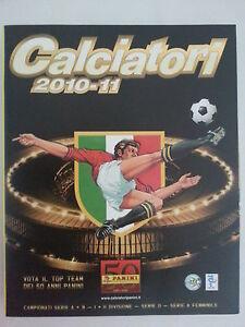 ALBUM-PANINI-CALCIATORI-2010-2011-NEUF-EMPTY-VUOTO