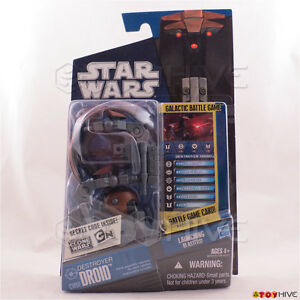 Destroyer Droid CW04 2010 STAR WARS THE CLONE WARS ACTION FIGURE