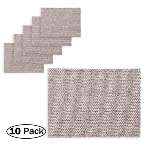"10 Pack 150 Grit Mirka 9A-178-150-10PK ABRANET 3x5/"" Hook and Loop Disc"