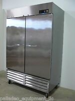Beverage Air KF48-1AS K Series 2 Door Freezer Stainless Steel, Works Great