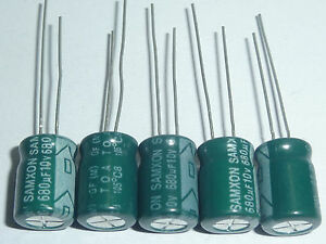 20pcs 10V 1000uF 10V BH CD288 8x16mm low impendance Capacitor