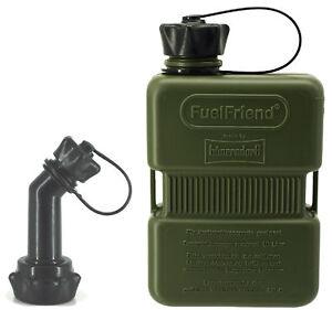 FuelFriend-PLUS-1-0-Liter-Sonderserie-OLIV-Fuellrohr-verschliessbar