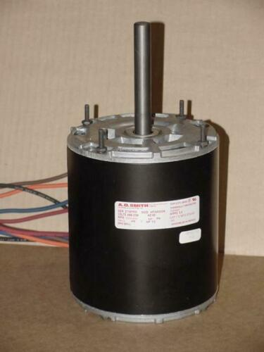 AO SMITH HF3W043N//155483 1//2HP MOTOR 208//230 VOLT 1050//850 RPM SINGLE SHAFT