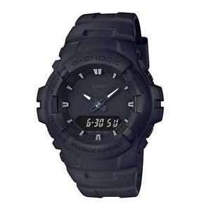 Casio G-shock Matte Black Analog Digital Dual Time Watch G100bb-1a ... 41968d614