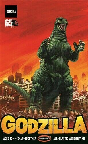 Godzilla 1:250 scale by Polar Lights mint in sealed box