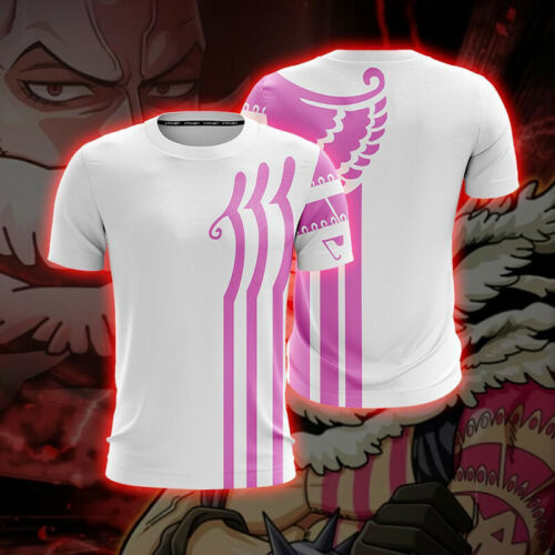 T-Shirt Poliester 3D Summer Collection one katakuri CHARLOTTE piece