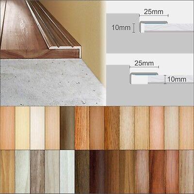 2 7m Laminate Floor Edge Profile Trims, How To Edge Laminate Flooring