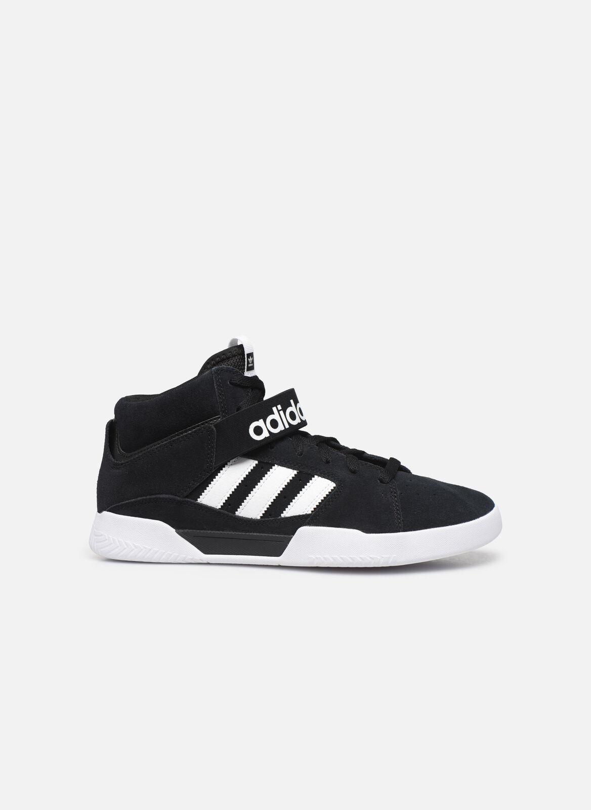 Herren Adidas Originals Vrx Mid Turnschuhe Schwarz
