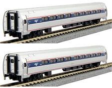 Kato N Scale 106-8002 Amtrak Amfleet I Phase VI Coach-Coach Two Car Set A New!