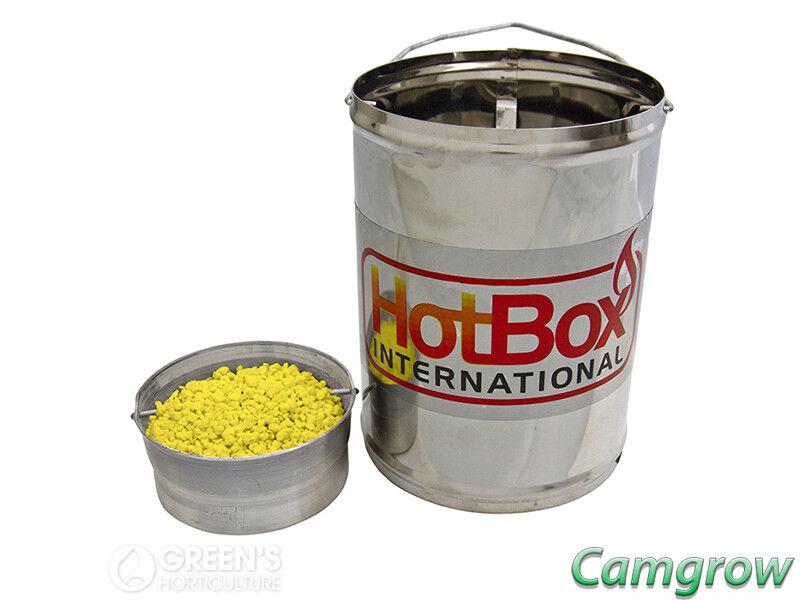 HotBox Sulfume vaporizzatore a zolfo 500g inclusi RAGNETTO & controllo insetti
