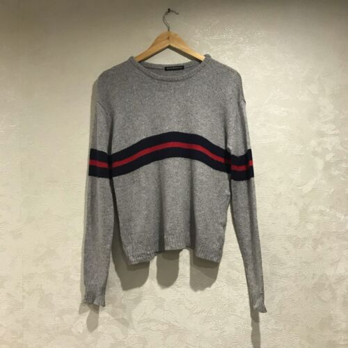 Brandy Melville Red Stripe Oversized Sweater