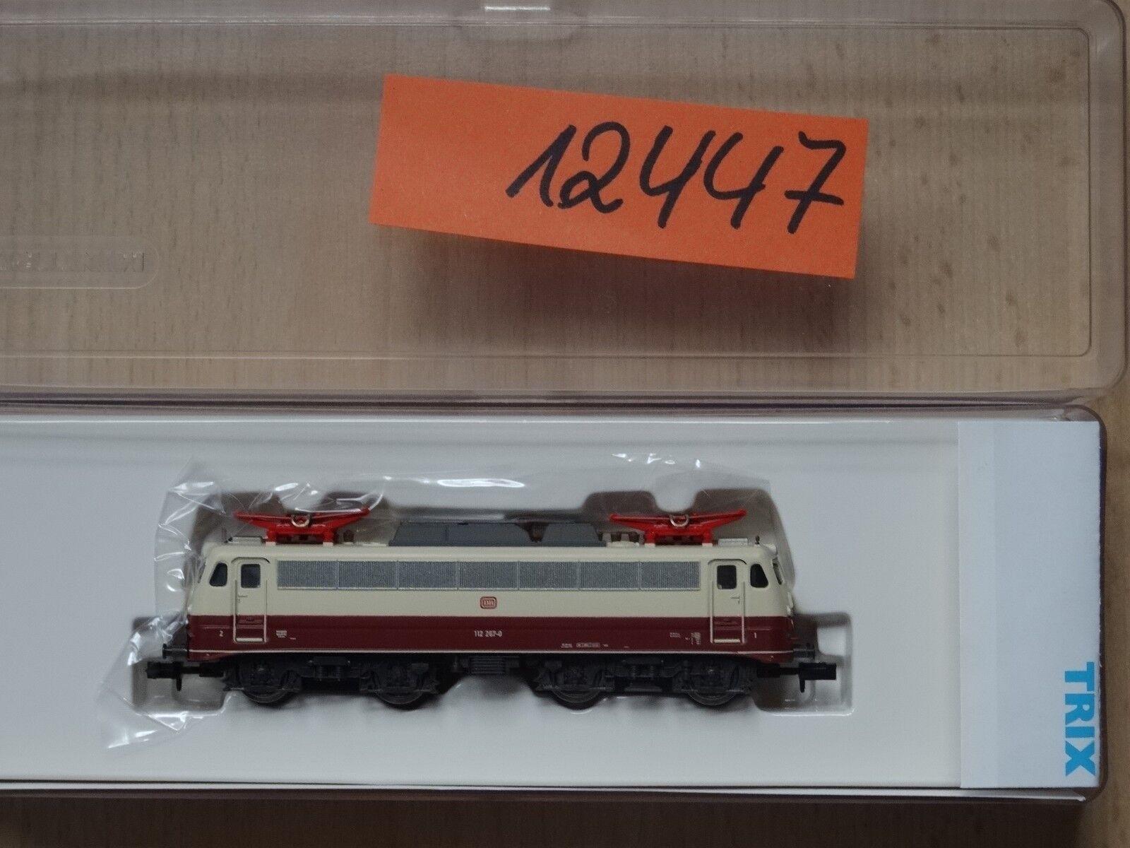 Trix  N  Art 12447 E-Lok der DB E 112 mit OL-Betrieb     neu OVP