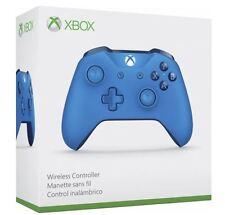 Xbox One / Xbox One S / Windows Wireless Controller - Blue w/3.5mm Headset Jack