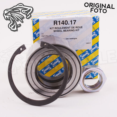 ORIGINAL SNR R140.17  RADLAGERSATZ RADLAGER CITROEN FIAT PEUGEOT