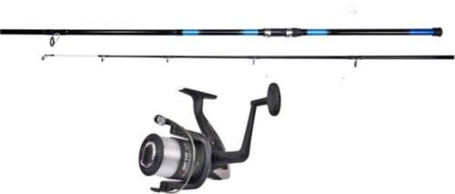 Shakespeare Beta Beach Reel & Oak 12FT Beach Rod Pier Rock Beachcaster Fishing