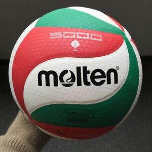 Molten-V5M5000-Volleyball-Ball-Size5-PU-Leather-Soft-Touch-Indoor-Outdoor-Game