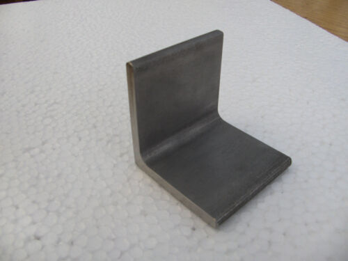 Acier Inoxydable-Angle Connecteur v2a L-Angle cuisse 60 mm x 60 mm x 6,0 mm