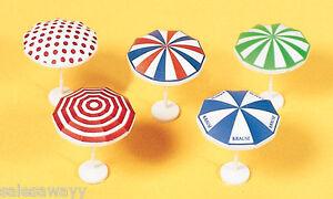 Amical Preiser 17209 Parapluies, 5 Pièces Imprimé, Kit De Montage, Et Aide à La Digestion