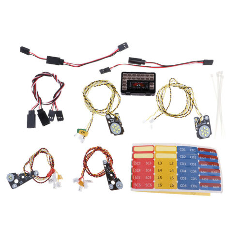 IC Lamp Group Headlight Kit for  Trx4 RC Car LED Front Rear Lights