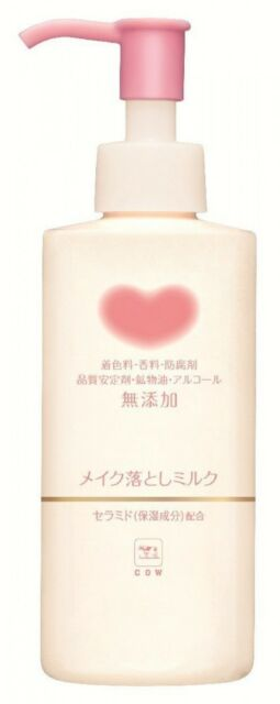 Cow Brand Additive-free Makeup Remover Cleansing Milk 150ml F/S from Japan