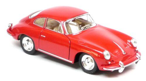 12cm Sammlermodell ca Porsche 356B Carrera 2 rot ca 1:32 Neuware von KINSMART