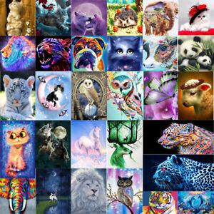 DIY-5D-Diamond-Painting-Embroidery-Flower-Animals-Cross-Crafts-Stitch-Kit-Decor