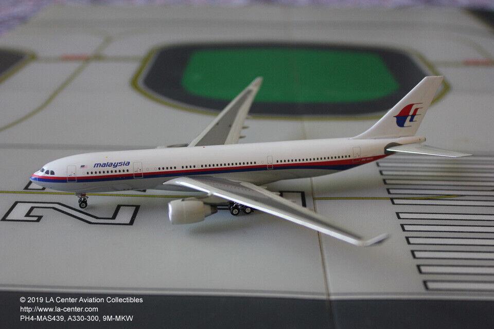 Phoenix Models Malasia Airbus A330-300 en Antiguo Modelo Diecast Color 1 400