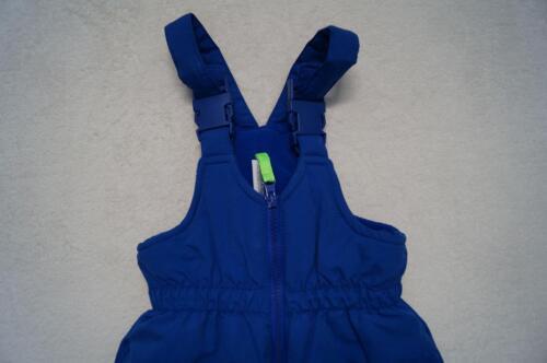 74 blau NEU 80   2 Farben schwarz KIDS Schneehose  Skilatzhose Gr