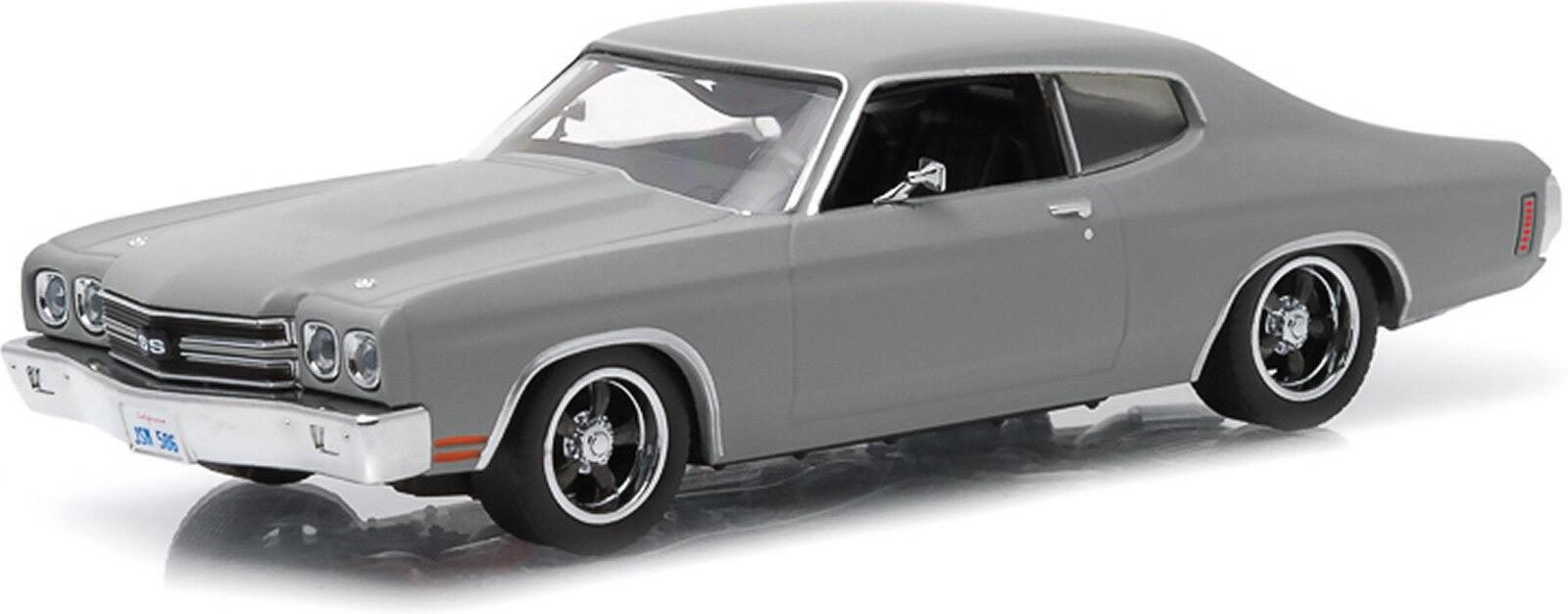 Snabb och ilsken - Dom's 1970 Chevrolet Chevelle SS - 1 43 skala grönljus