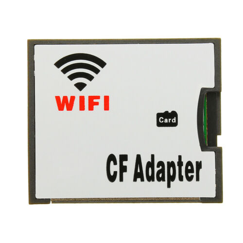 WIFI TF Transfer CF Card Micro SD Transfer CF Adapter Card Wireless Memory Card