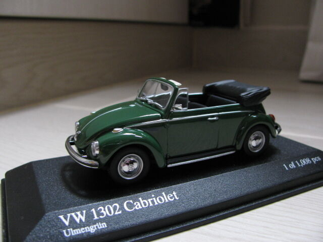 1 43 Minichamps VW VW VW Volkswagen 1302 Cabriolet 25aee2
