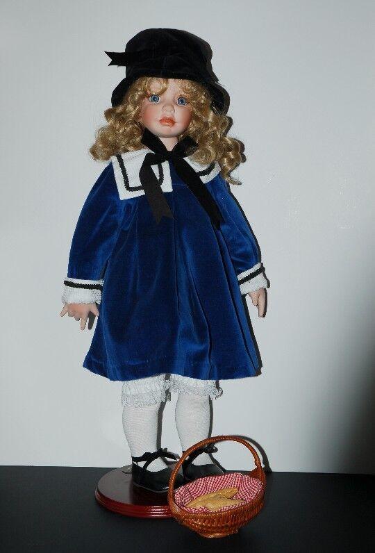 Claudette  splendida bambola di porcellana da Amy Burgess  non perdere