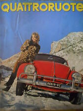 Quattroruote 133 1967 - test Volkswagen 1500 Supermaggiolino  [Q41]