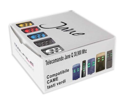 Télécommande radio Jane Q compatible Came TOP304M TOP304A 30,900 Mhz