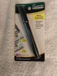 Dri-Mark-R-Counterfeit-Detection-Pen-Compact-Pocket-Style-Black