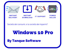Windows 10 Pro - Licenze OEM - 64/32 bit - Scrap PC