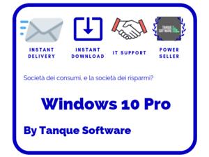 Windows-10-Pro-Licenze-OEM-64-32-bit-Scrap-PC