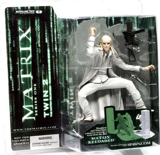 McFarlane Toys Series 1 Matrix Action Figure Twin 2