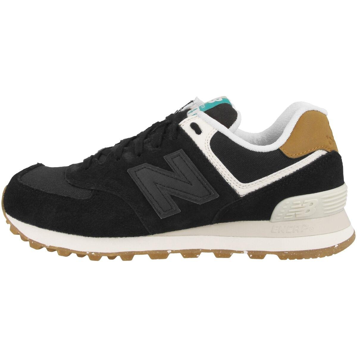 New balance WL 574 sec mujer zapatos negro negro negro powder cortos señora ml 410 wl574sec  online al mejor precio