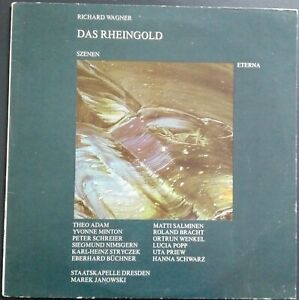 Wagner - Das Rheingold, JANOWSKI, SK DRESDEN, Eterna STEREO